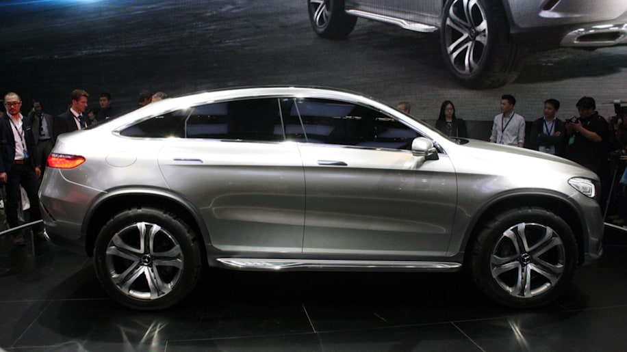 Mercedes benz concept coupe suv blurs lines in beijing autoblog - Mercedes benz concept coupe suv ...