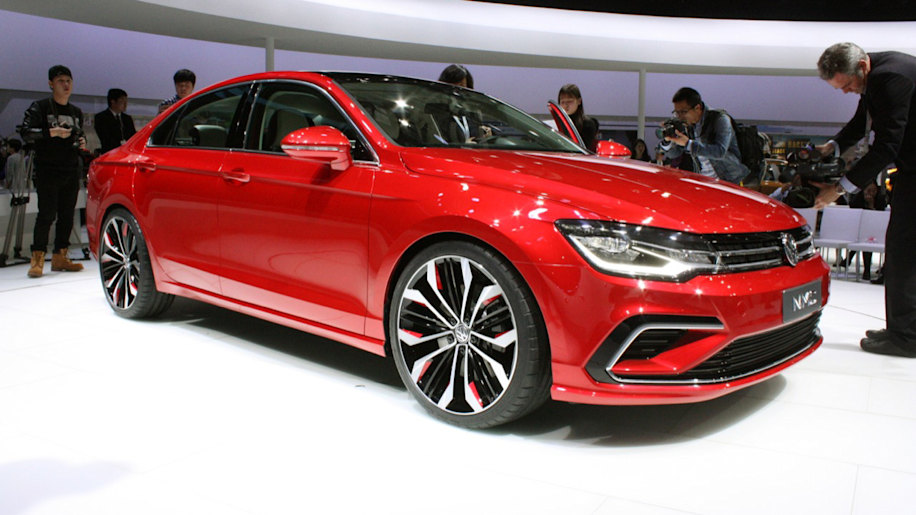 Volkswagen New Midsize Coupe Concept Is An Aspirational