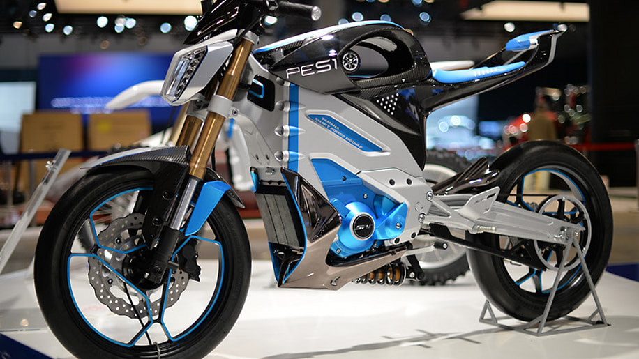 Yamaha pes1 and ped1 electric motorcycles headed for for Electric yamaha motorcycle