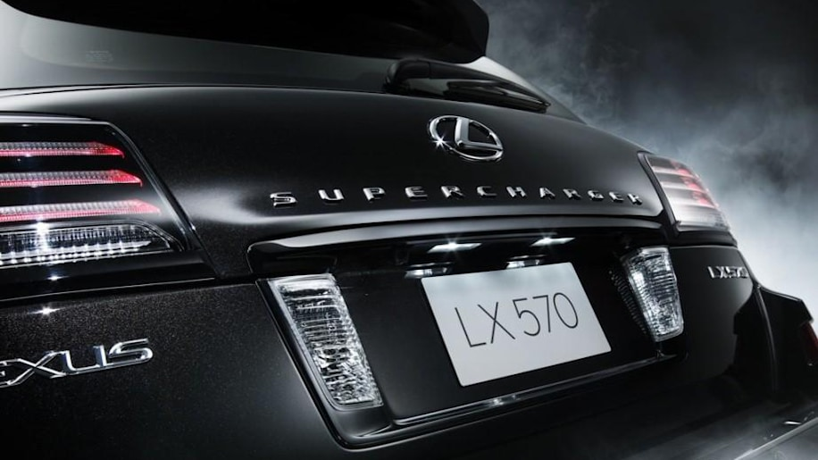 Lexus launches supercharged lx 570 in middle east autoblog - Lx 570 supercharger ...