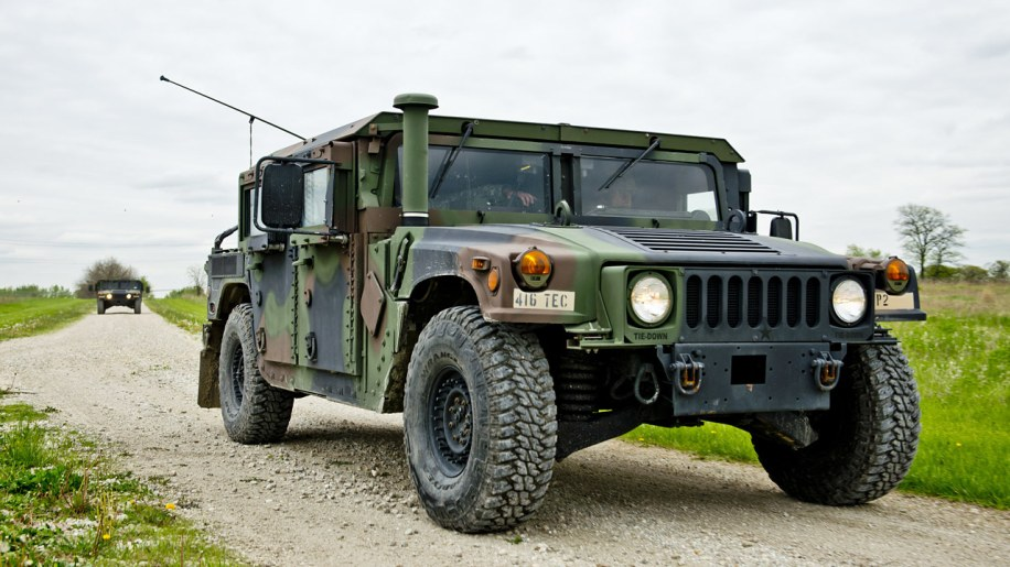 US Army Humvee driver [w/video] - Autoblog