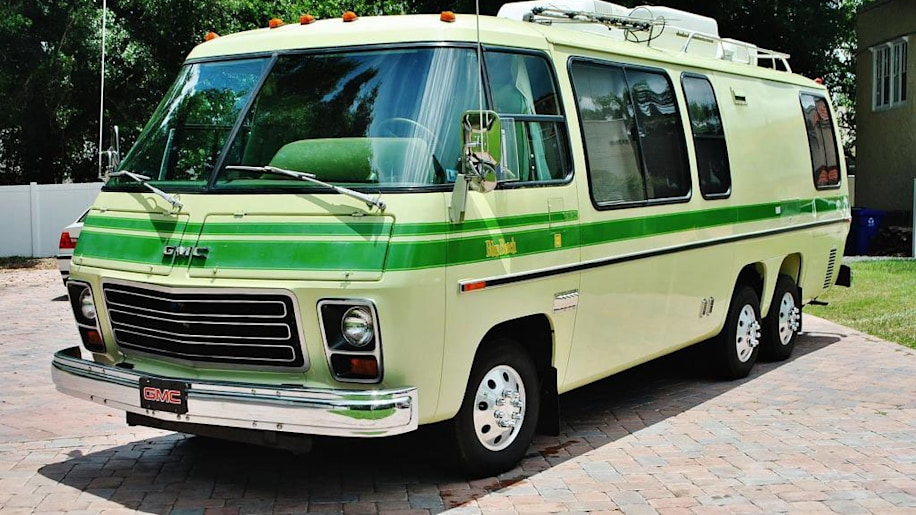 ebay find of the day 1976 gmc motorhome is a jolly green autoblog
