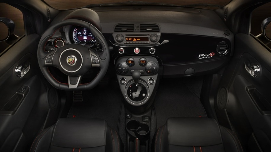 2015 Fiat 500 Abarth   Automatic Interior Photo Gallery - Autoblog