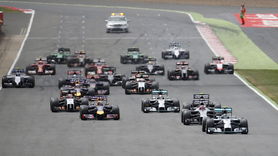 Britain F1 GP Auto Racing