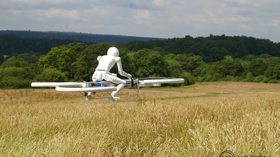 Of course we'd like to Kickstart a hoverbike [w/video]