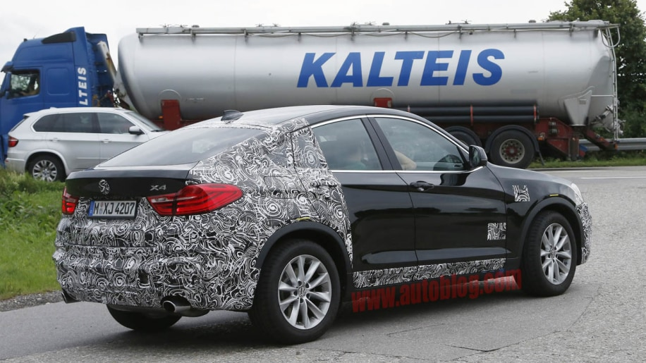 Bmw X4 M40i Spotted Testing In Germany Autoblog