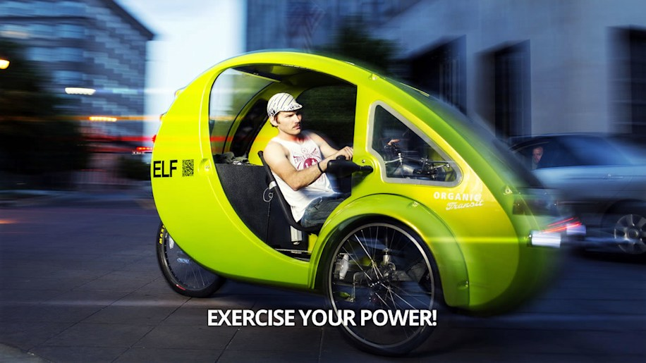 egg shaped solar and pedal powered 5 500 elf eco trike on the way autoblog. Black Bedroom Furniture Sets. Home Design Ideas