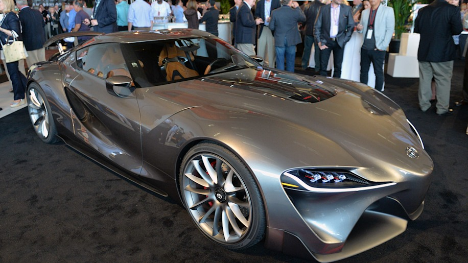 Toyota reveals new versions of FT-1 concept at Pebble Beach [w/video]