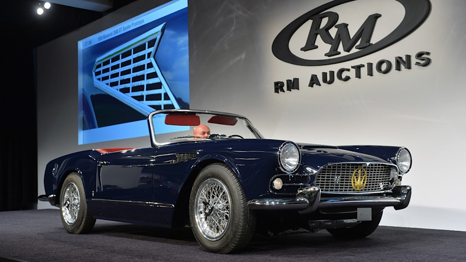 $11.55 million 1964 Ferrari 250 LM highlights RM Auctions' first night in Monterey