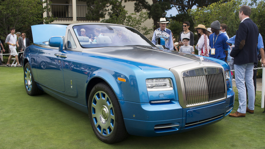 Rolls-Royce Phantom Drophead Coupé Waterspeed Collection is a real land yacht