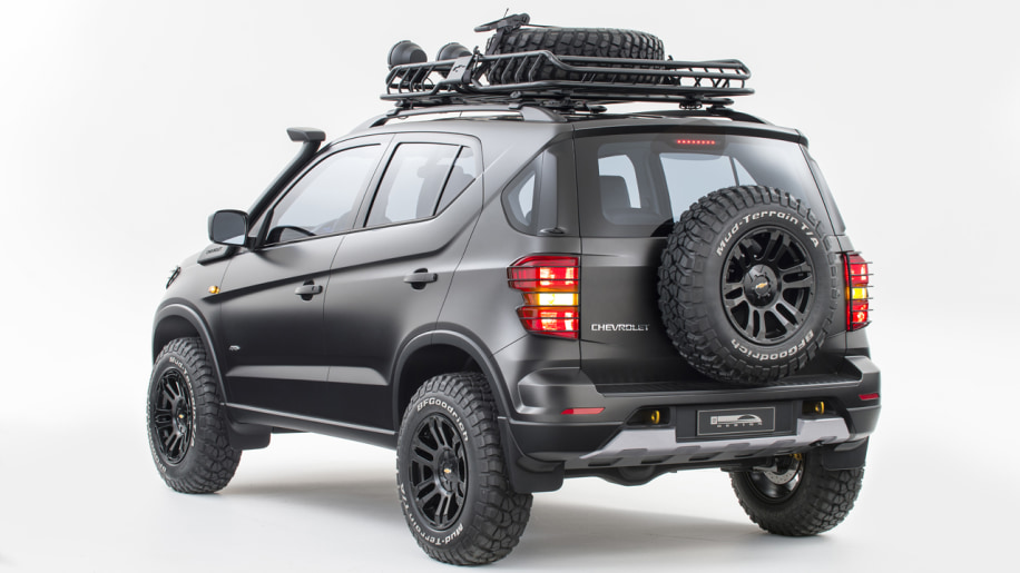 Chevy's hardcore Niva concept ready for Moscow adventure
