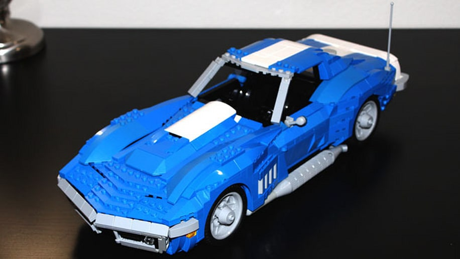 Five awesome Lego car creations