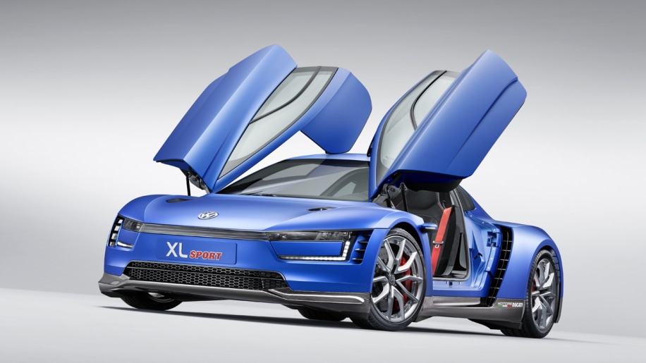 Volkswagen XL Sport brings high-performance fuel-sipping to Paris - Autoblog