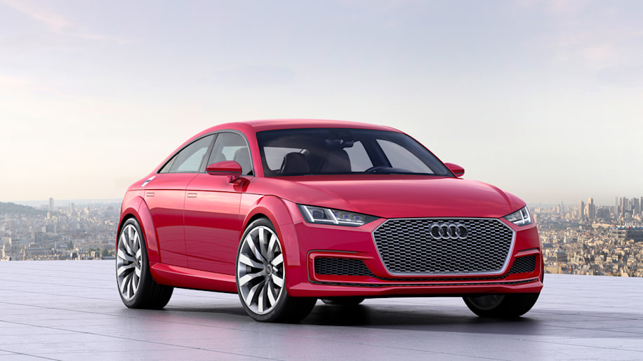 audi tt sportback concept evolves the five-door breed - autoblog