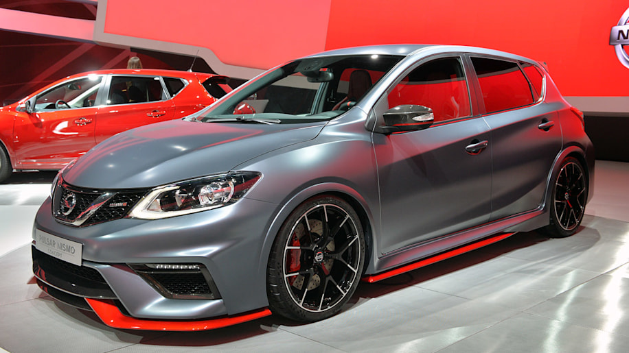 2015 nissan pulsar and pulsar nismo concept show jekyll and hyde for the hatch autoblog. Black Bedroom Furniture Sets. Home Design Ideas