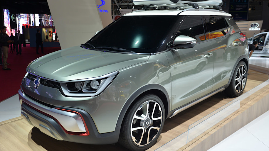 SsangYong XIV-Adventure and XIV-Air Concepts are finding the pace