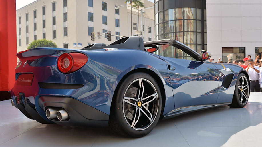Ferrari takes over Rodeo Drive to introduce F60 America