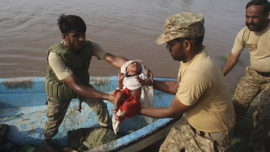 Pakistan India Flooding