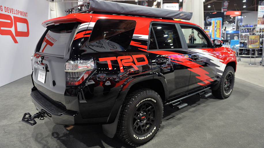 Toyota TRD Pro Chase Trucks are ready to hit the desert at SEMA
