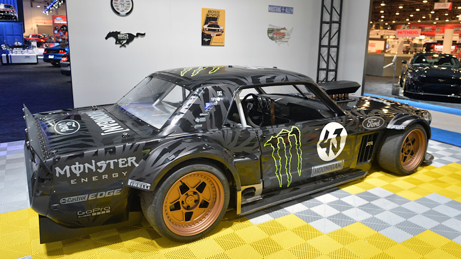 Ken Block S 1965 Ford Mustang Hoonicorn Rtr And Cr Supercars Villain Are Retro Done Right Autoblog