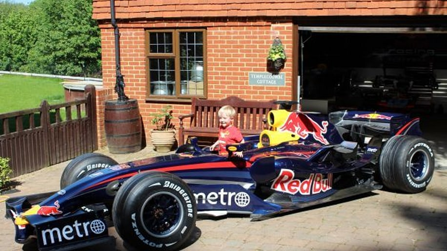 Own this Red Bull F1 car for less than an Aventador