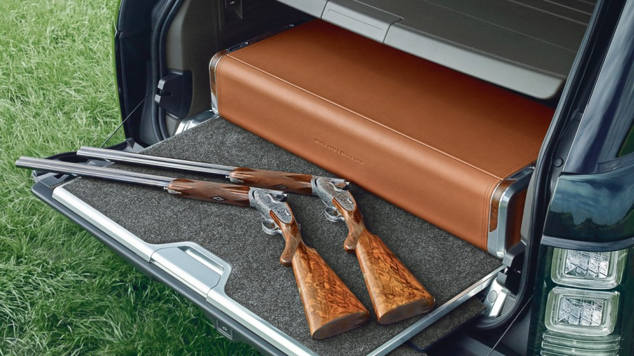 Portable Gun Cabinet In The Boot