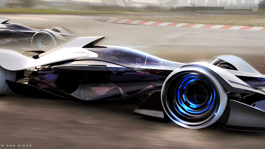 Infiniti Synaptiq concept 'spinal lock attachment' makes you one with your car