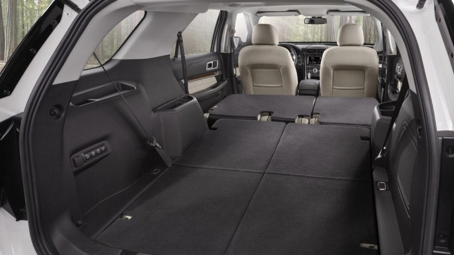 2016 Ford Explorer cargo area