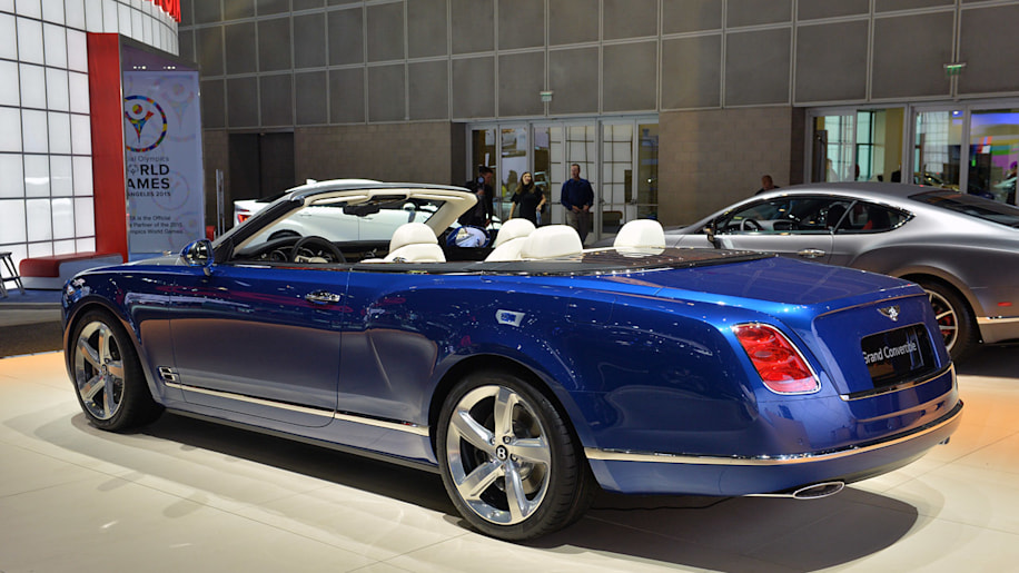 Bentley Mulsanne Grand Convertible Due In 2017 Speed 6