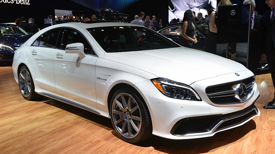 2015 Mercedes-Benz CLS63 AMG S 4Matic stands out in the LA crowd ...