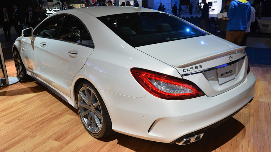 2015 Mercedes Benz Cls63 Amg S 4matic Stands Out In The La
