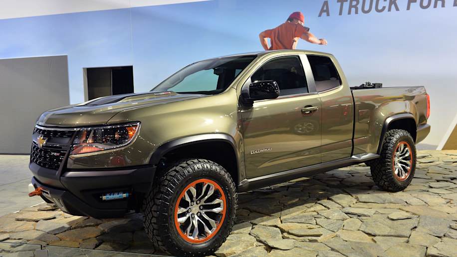 chevrolet colorado zr2 concept suggests a diesel off road autos post. Black Bedroom Furniture Sets. Home Design Ideas