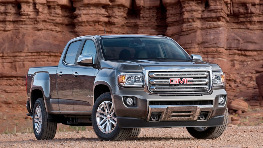 2015 GMC Canyon 4WD SLE Crew Long Box