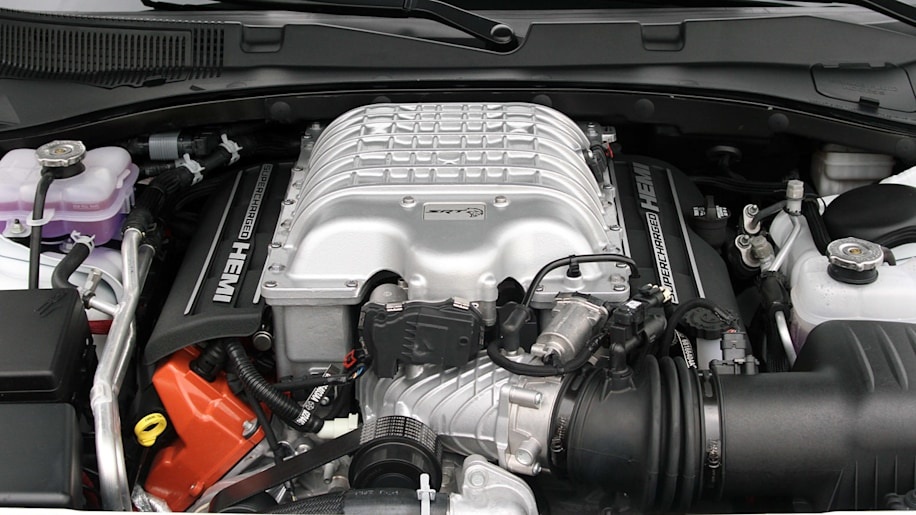 Chrysler, 6.2-liter, supercharged, Hellcat V8 engine