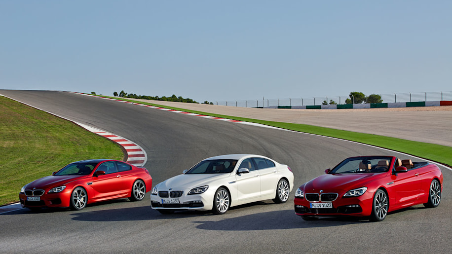 Revised 2015 BMW 6 Series Family Shows Its Tweaked Face To The