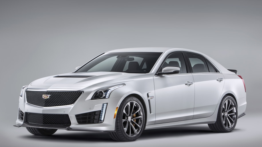 2016 Cadillac CTS-V arrives with 640 hp, 200-mph top sd - Autoblog