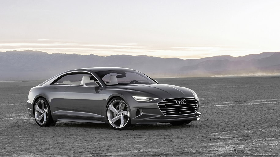 Audi Prologue Concept Drives Itself To CES With Updated Powertrain - Audi car that drives itself