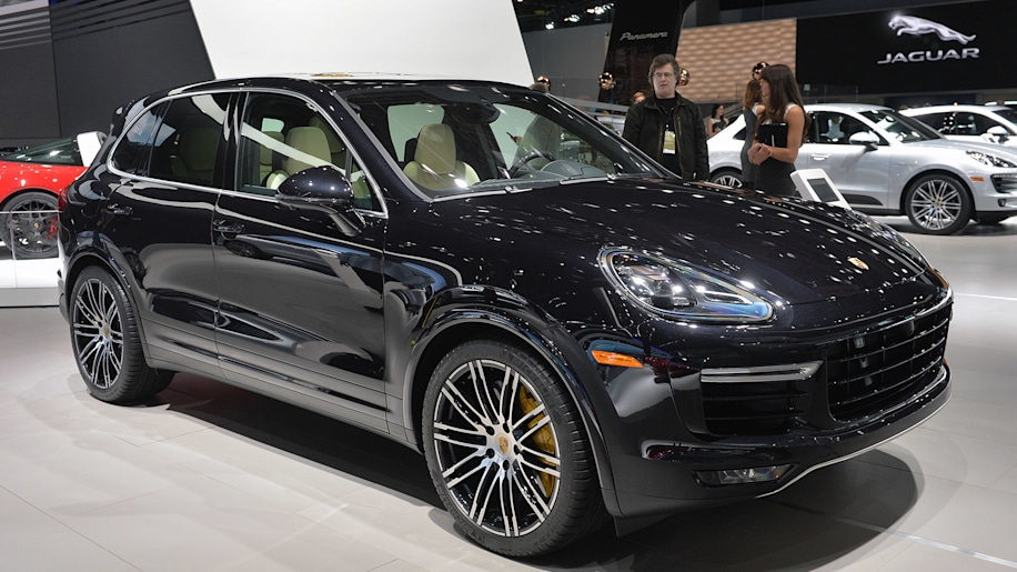 2015 Porsche Cayenne Turbo S gets faster, more powerful [w/video ...