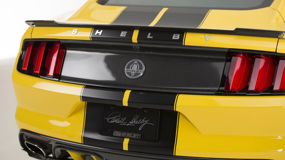 2015 Shelby GT bows in Scottsdale with 627 supercharged ponies