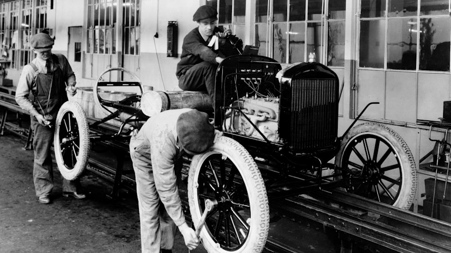 1. The Model T Came In Any Color, So Long As It Was Black