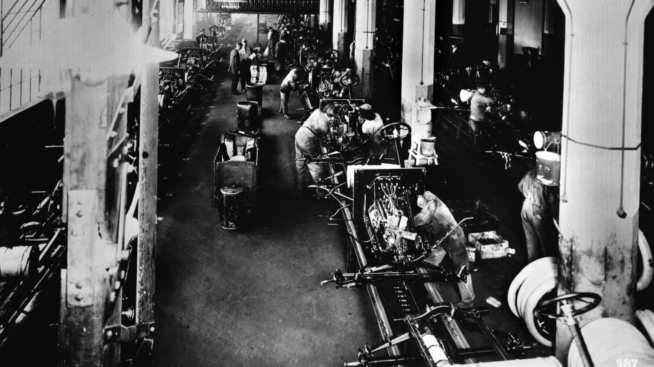 3. Ford Paid Employees Enough To Purchase The Cars They Built
