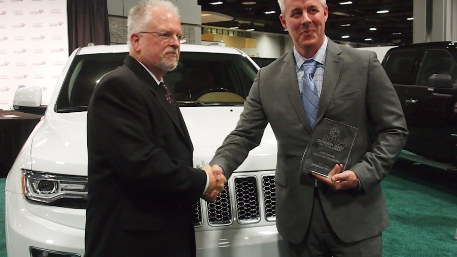 Jeep Grand Cherokee EcoDiesel wins 2015 Green SUV of the Year