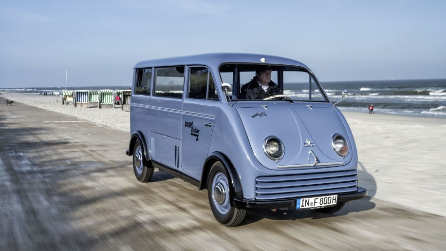 1956 Dkw Audi Electric Van Beautifully Restored Autoblog
