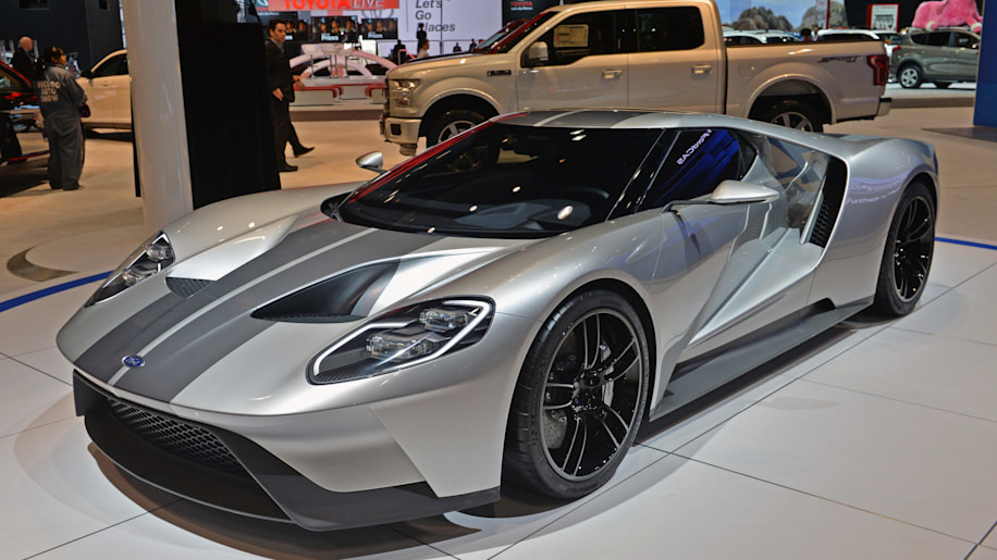New Ford Gt To Carry K Price Tag Autoblog