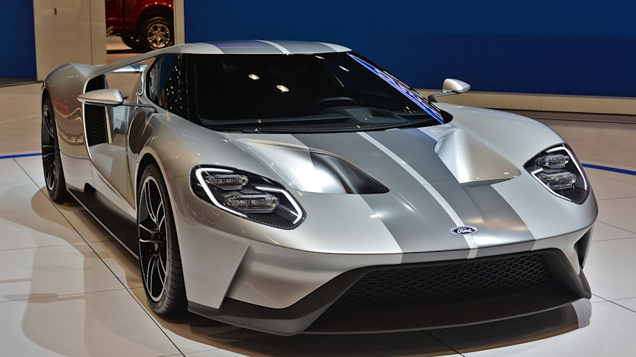 New Ford GT to carry 400kprice tag  Autoblog