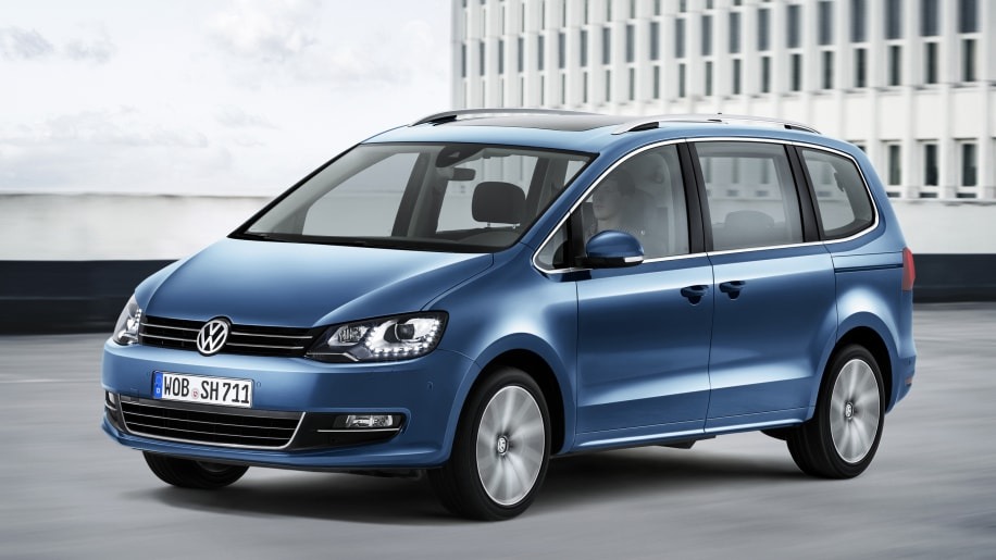 Volkswagen reveals updated sharan minivan for europe autoblog slide 3352190 publicscrutiny Gallery