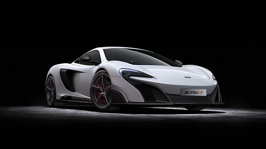 McLaren 675LT aims at the track with more power, less weight