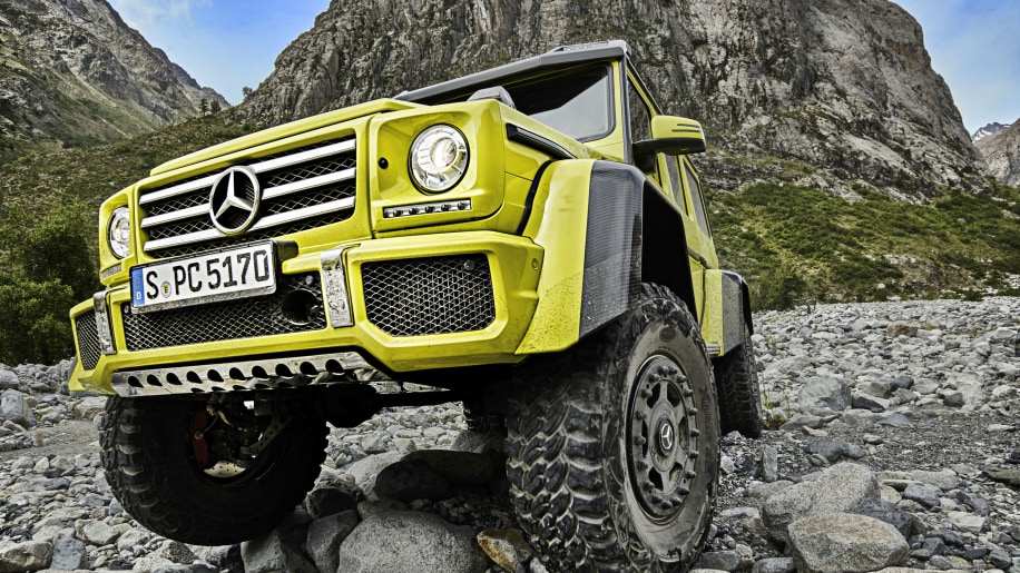 Mercedes Benz G500 4x4 Squared Luxury Off Roader Reaches