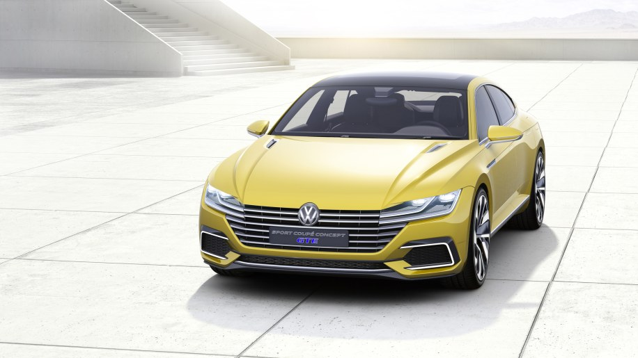 vw sport coupe concept gte 'marks beginning of a new design era