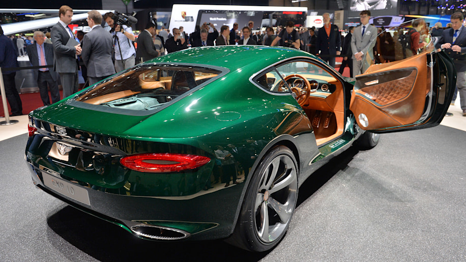Bentley May Develop Hp All Electric Sports Car Autoblog